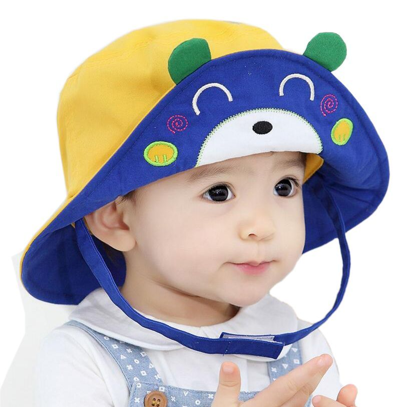 2ba01c4b 2016 New Arrival Baby Sun Hat Cap Child Photography Prop Spring Summer  Outdoor Wide Brim Kids