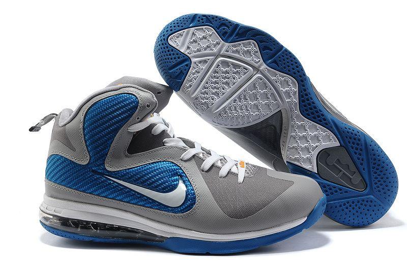 wholesale dealer aba3b 33ddc cheap jordan shoes for sale. Nike Lebron 9 Shoes Grey Blue