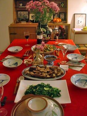 Simple Asian Dinner Table Setup Asian Dinners Dinner Easy Dinner