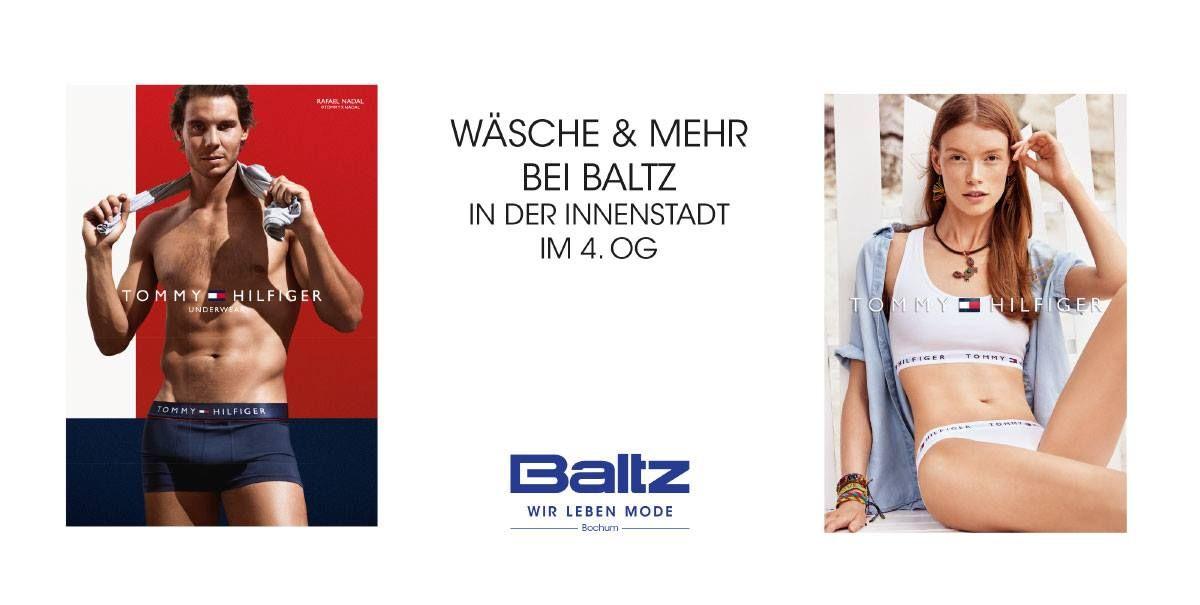 Schöne Wäsche für Herren und Damen bei Baltz in der Bochumer Innenstadt!