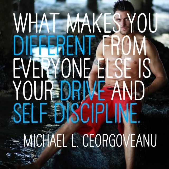 Drive & Self Discipline #quote #wisdom