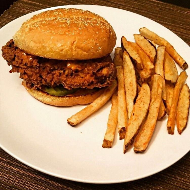 Homemade Popeye's Chicken Sandwich Recipe