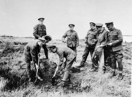 Army Graves Registration Unit at work on one of the old Western Front  battlefields, 1920 | World war one, World war, War