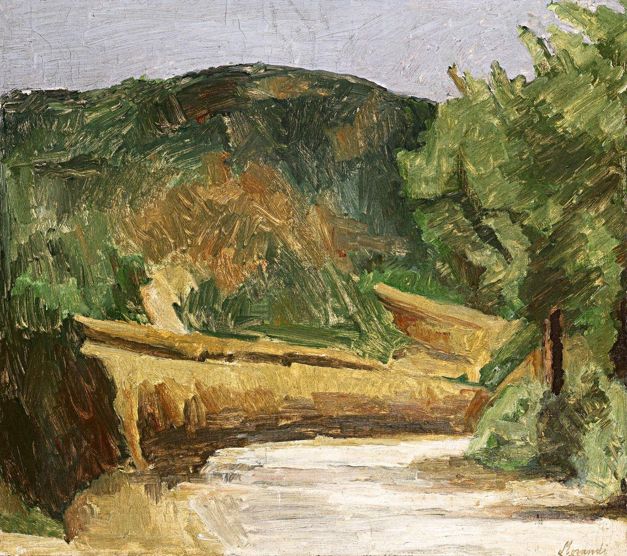 galerie-martin:  Giorgio Morandi - Paesaggio, 1935. Oil on canvas. (No size available)For more Fine Arts followgalerie mARTin.
