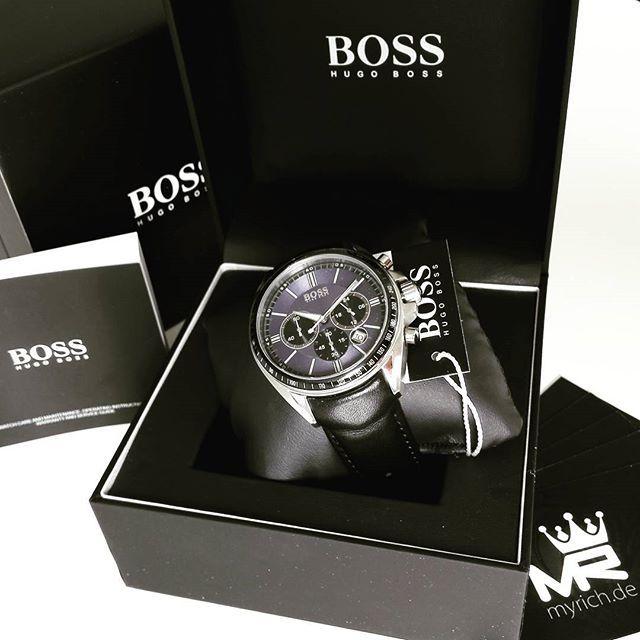 Hugo Boss 1513077 Myrich De Hugoboss Original Watch Style Uhr Trend Fashion Life New Official Chronograph Spor Watches For Men Hugo Mens Fashion