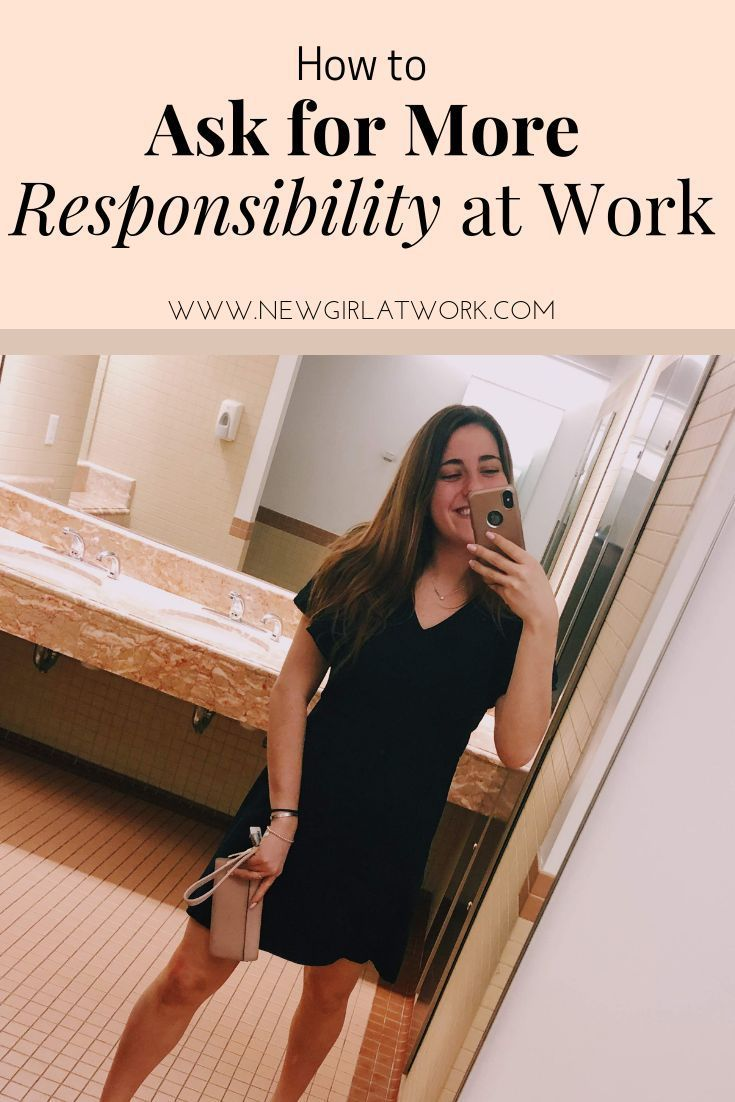 Asking for more responsibility on the job as you become more senior #careeradvice #millennial #millennialcareer #jobseeker #onthejob