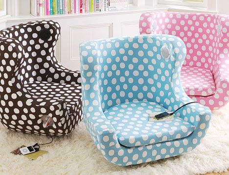 Teen Room Chairs teen+rocking+chair |  system or ipod into the jack and the