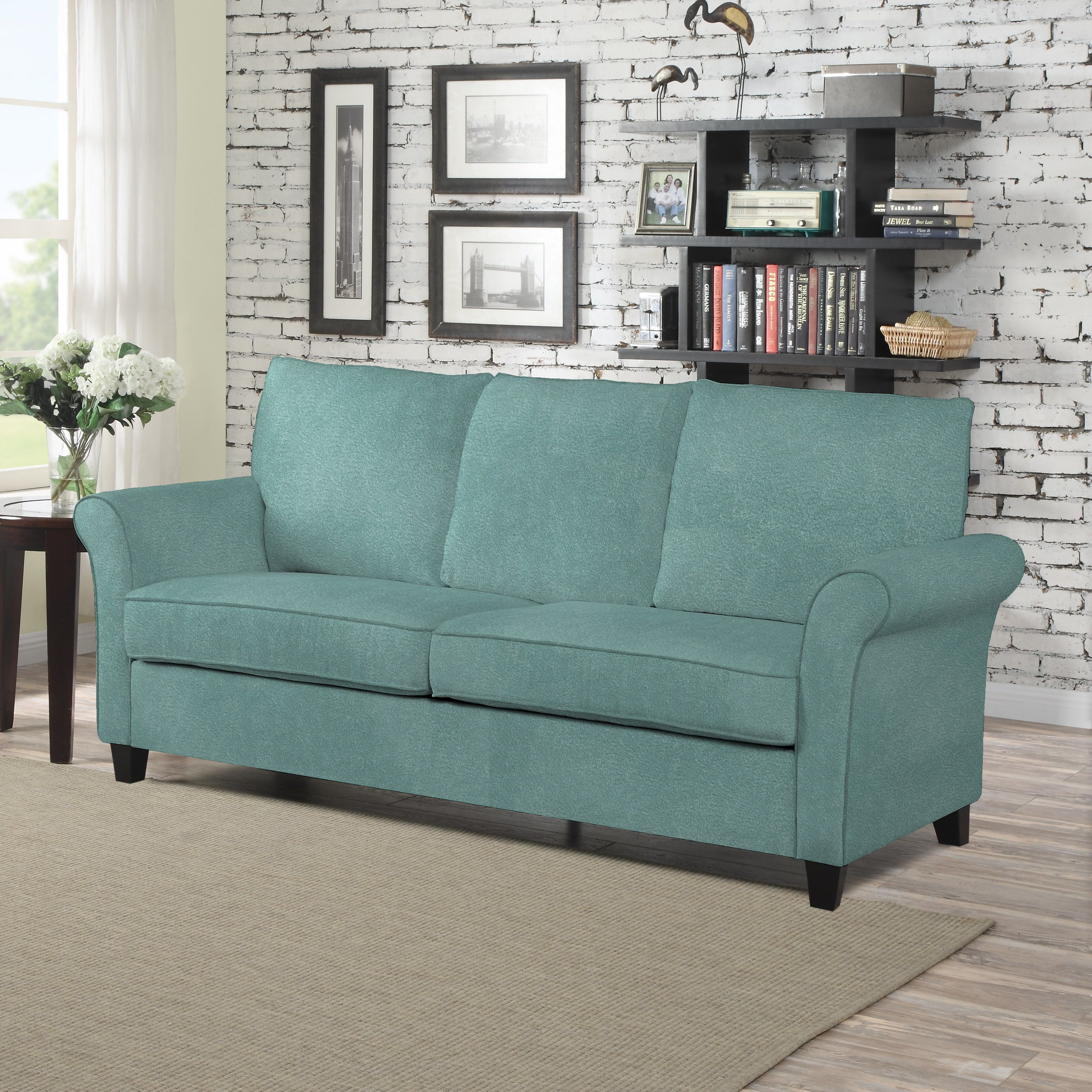 upscale plum leather and sofa loveseat resale gahanna furnishings dark of