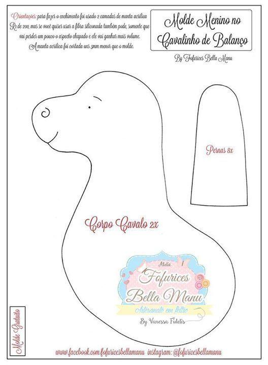 Molde para imprimir de caballos para baby shower. Related Post ...