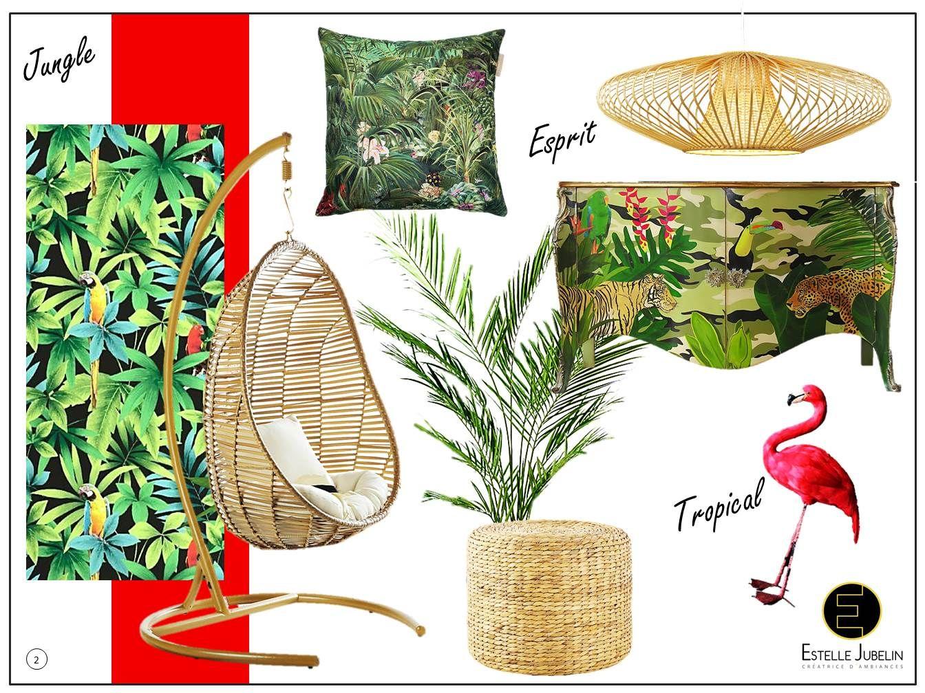 venez d couvrir l 39 univers d co tr s tendance de cette ann e du tropical l 39 urban jungle. Black Bedroom Furniture Sets. Home Design Ideas