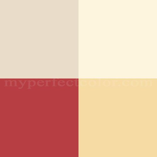 Benjamin Moore Pottery Barn Colors Summer 2007 Bright And Bold Scheme Yellow Paint Colors Benjamin Moore Pottery Barn Colors Color Palette Interior Design