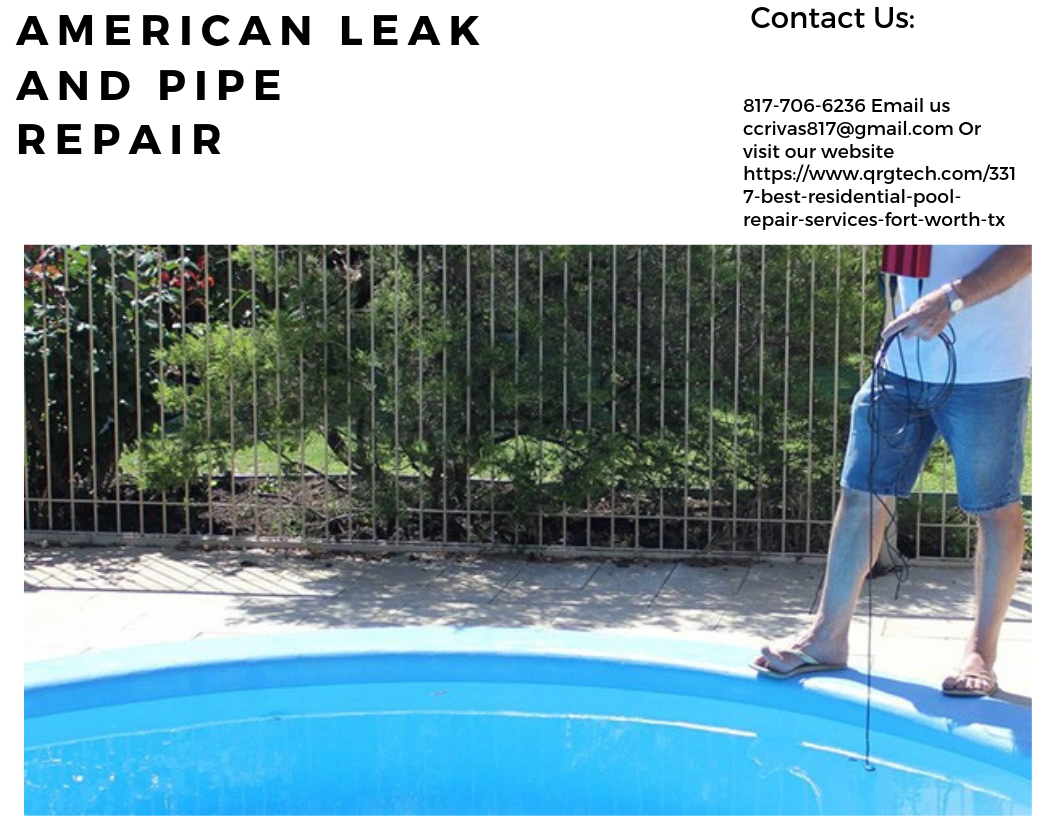 Are You Dealing With A Leaking Pool We Are A Professional