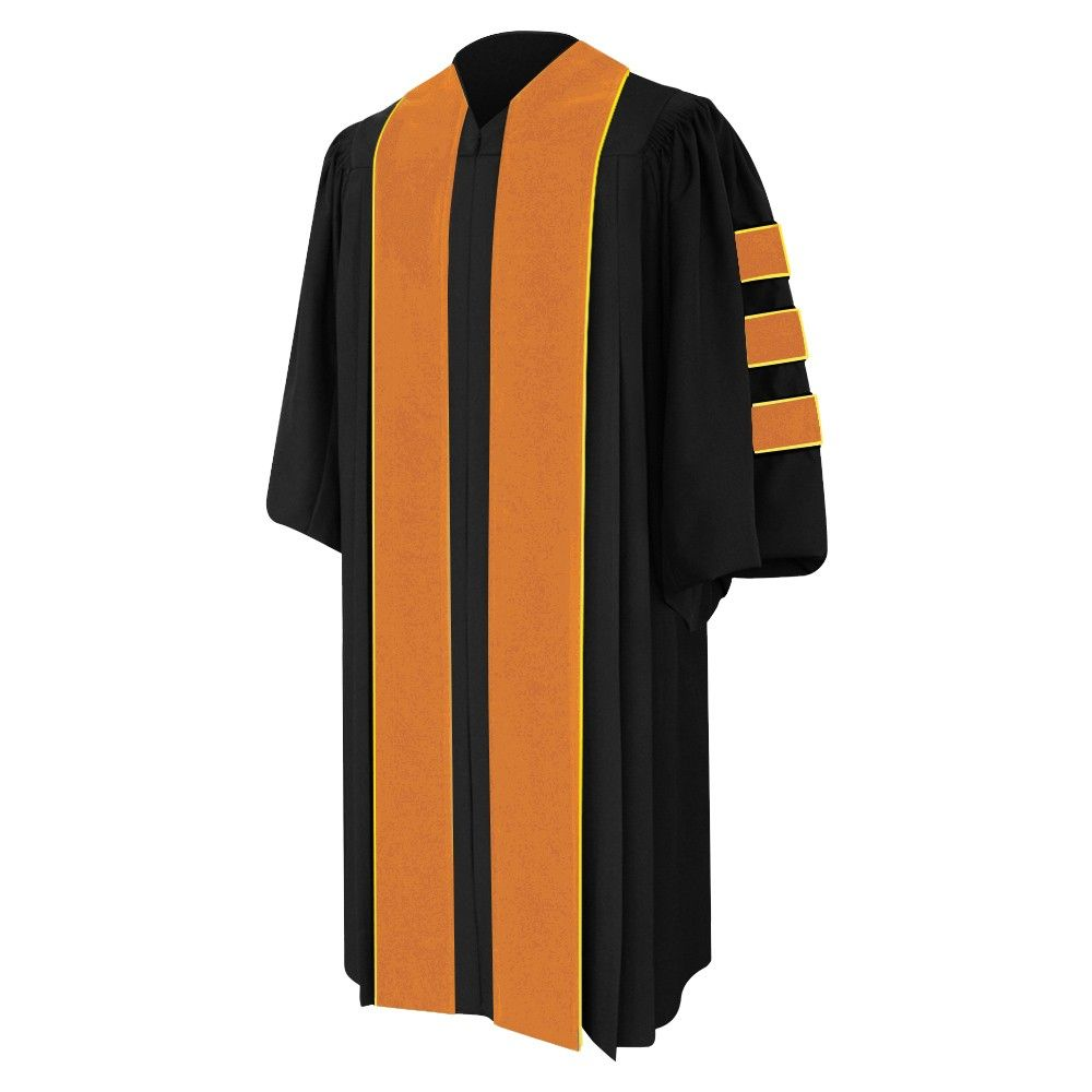 Yellow Doctorate Graduation Gown | Graduation Rob, Cap and Gown ...