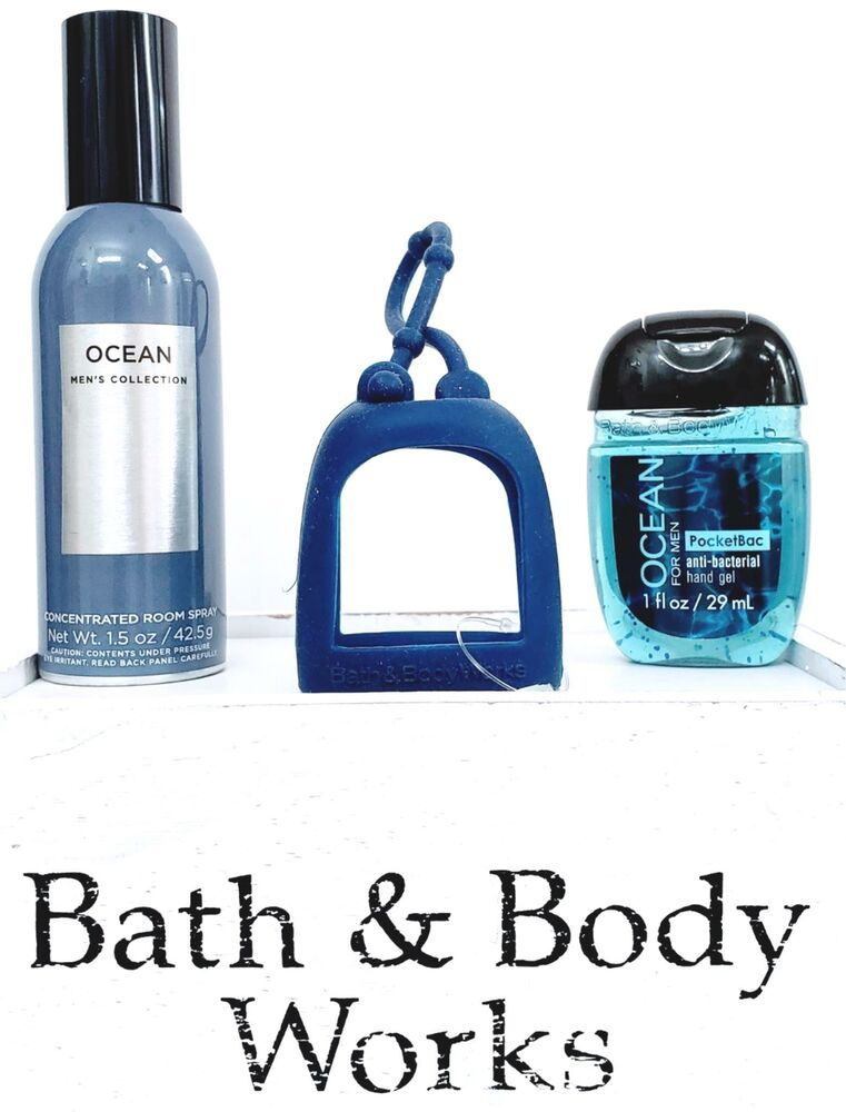Bath And Body Works Ocean Room Spray Pocketbac Navy Pocketbac