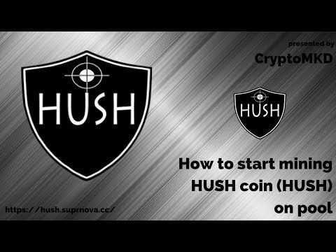hush cryptocurrency price