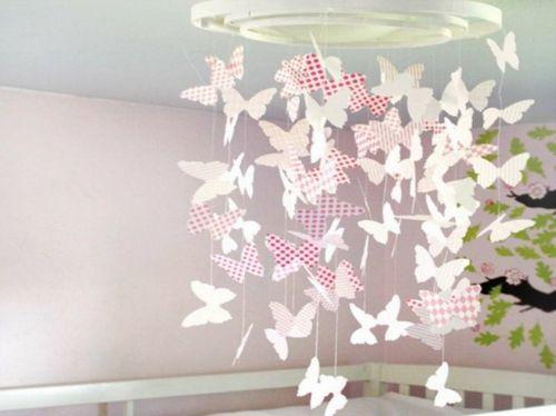 Epic schnelle DIY Party Dekoration aus Papier schmetterlinge