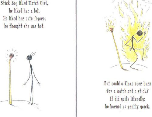 Poem from the Melancholy Death of Oyster Boy by Tim Burton.