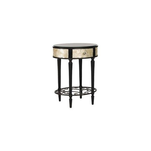 Ginerva Side Table The Great Gatsby ❤ liked on Polyvore featuring home, furniture, tables, accent tables, art deco furniture, art deco side table, art deco end table, art deco style furniture and art deco table