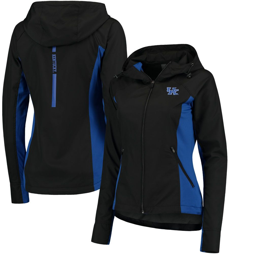 Women s Colosseum Black Kentucky Wildcats Step Out Windbreaker Jacket c7d540c3b