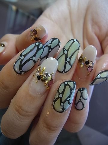 Nail design collection blog of gel nail salon Mani Closet presided over Nozomi Tsutsui of Shinsaibashi blog | December 23, 2013!