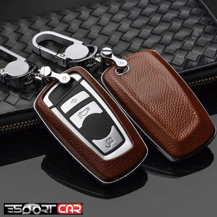 New arrival Car Remote Leather Key Case Holder Cover For
