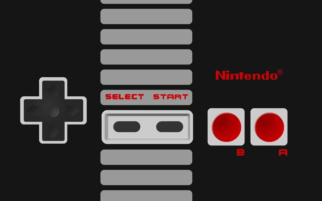 I Decided To Make A Wallpaper Of The Classic Face Of The Nes