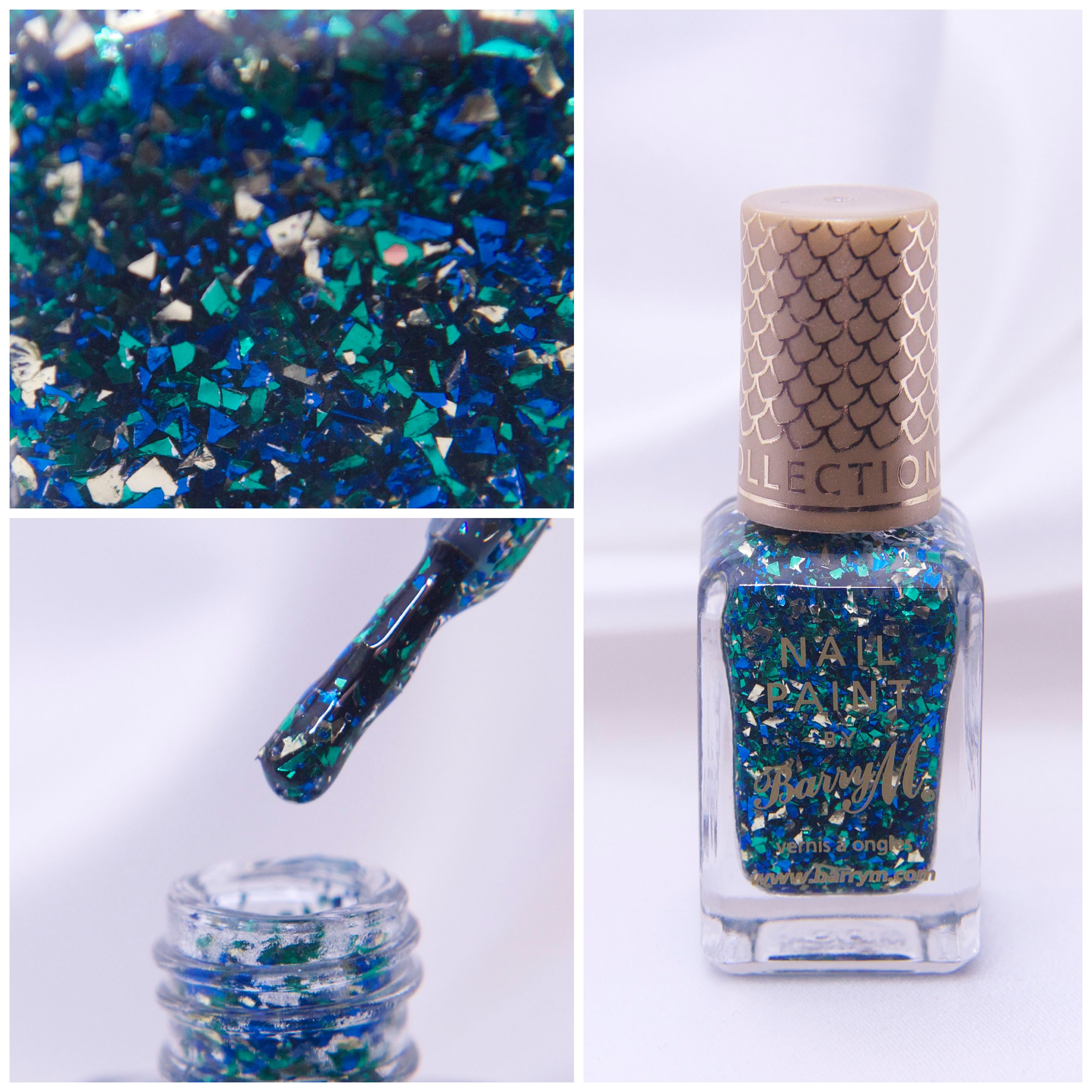 Barry M – Mermaid! <3  http://veganmakeup.se/2014/12/10/barry-m-mermaid/