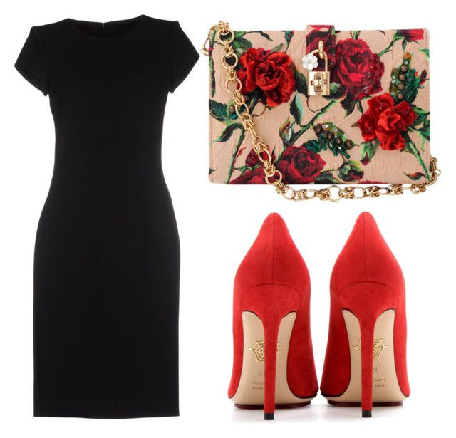 """Untitled #142"" by isadora-beraldin on Polyvore featuring Dolce&Gabbana, Emilio Pucci, Charlotte Olympia, women's clothing, women's fashion, women, female, woman, misses and juniors"