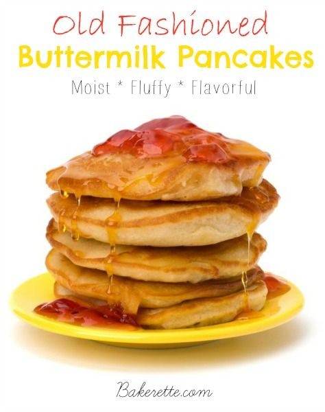 Thee Best Old Fashioned Buttermilk Pancakes Recipe Buttermilk Pancakes Honey Recipes Pancakes