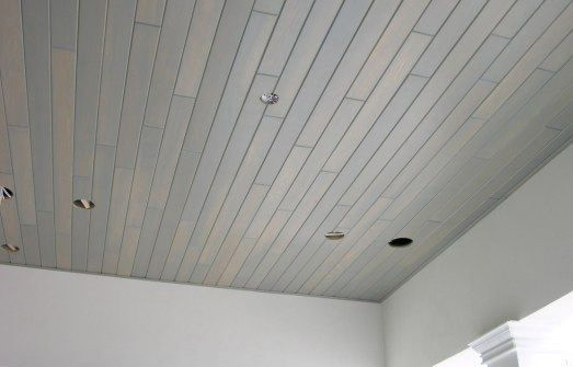 Whitewashed Pine Tongue And Groove Whitewashed Cypress Plank Paneling More Painted Wood Paneling Pin Wall Paneling Painted Wood Ceiling Wood Ceilings