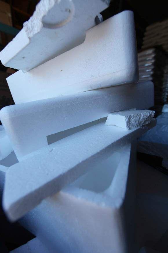 In Praise Of Styrofoam Recyclers Styrofoam Recycling Styrofoam Recycle Cans
