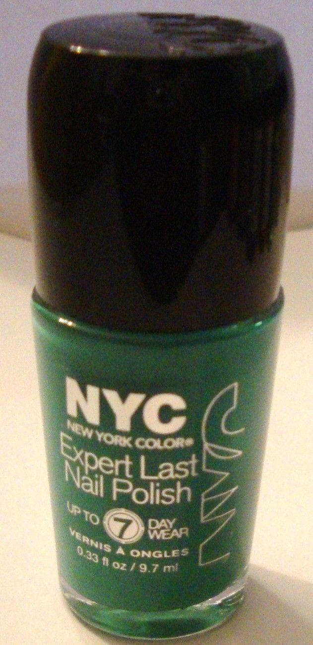 NYC #265 Mint Breeze Expert Last Nail Polish