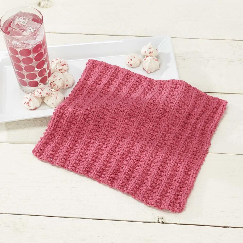 This simple knit sorbet dishcloth has vertical ridges which give dishcloth knitting patterns bankloansurffo Choice Image