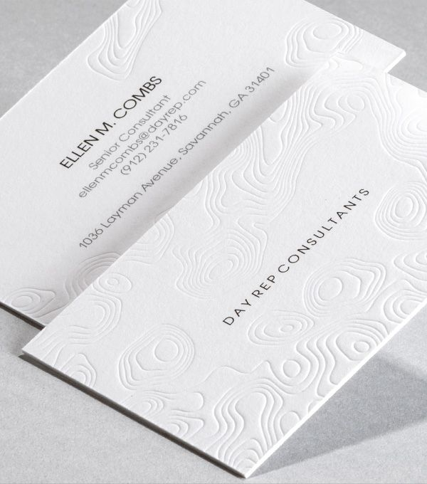 Browse Business Card Design Templates Letterpress Business Cards Business Branding Design Business Card Branding