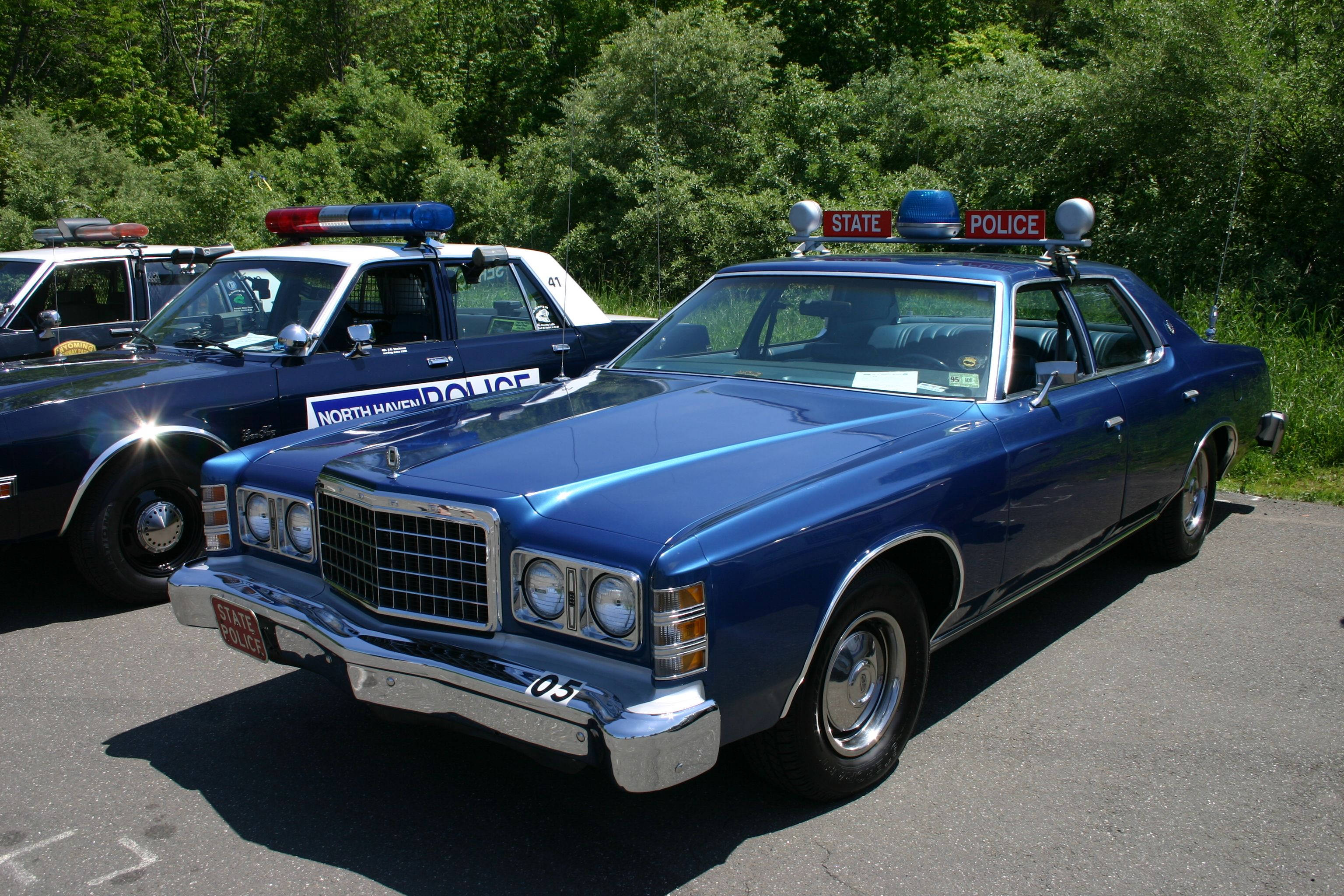 1978 Ltd Connecticut State Police Cruiser Police Cars Old