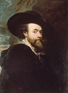 Rubens in un autoritratto del 1623