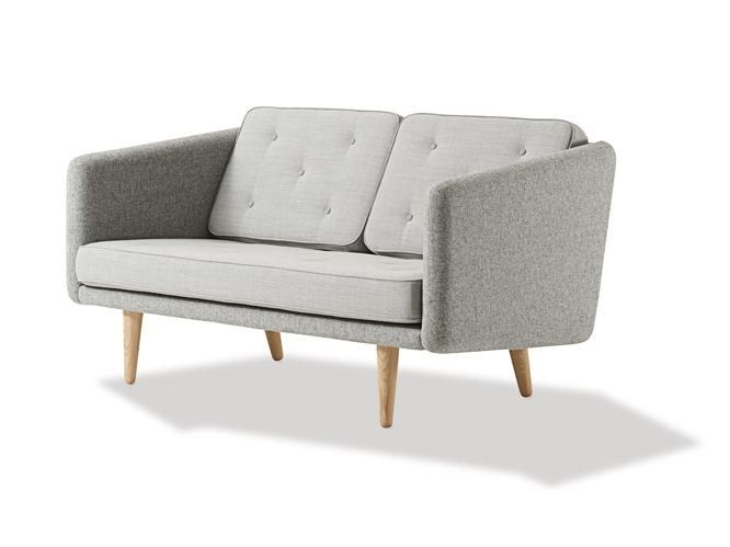 Upholstered 2 Seater Fabric Sofa No 1 By Fredericia Furniture Design Borge Mogensen With Images Fredericia Furniture Sofa Design Sofa Furniture
