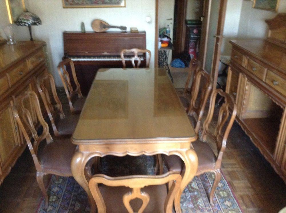 Camera Da Letto Stile Barocco Piemontese : Tavolo e sedie in barocco piemontese metà xx secolo arte e