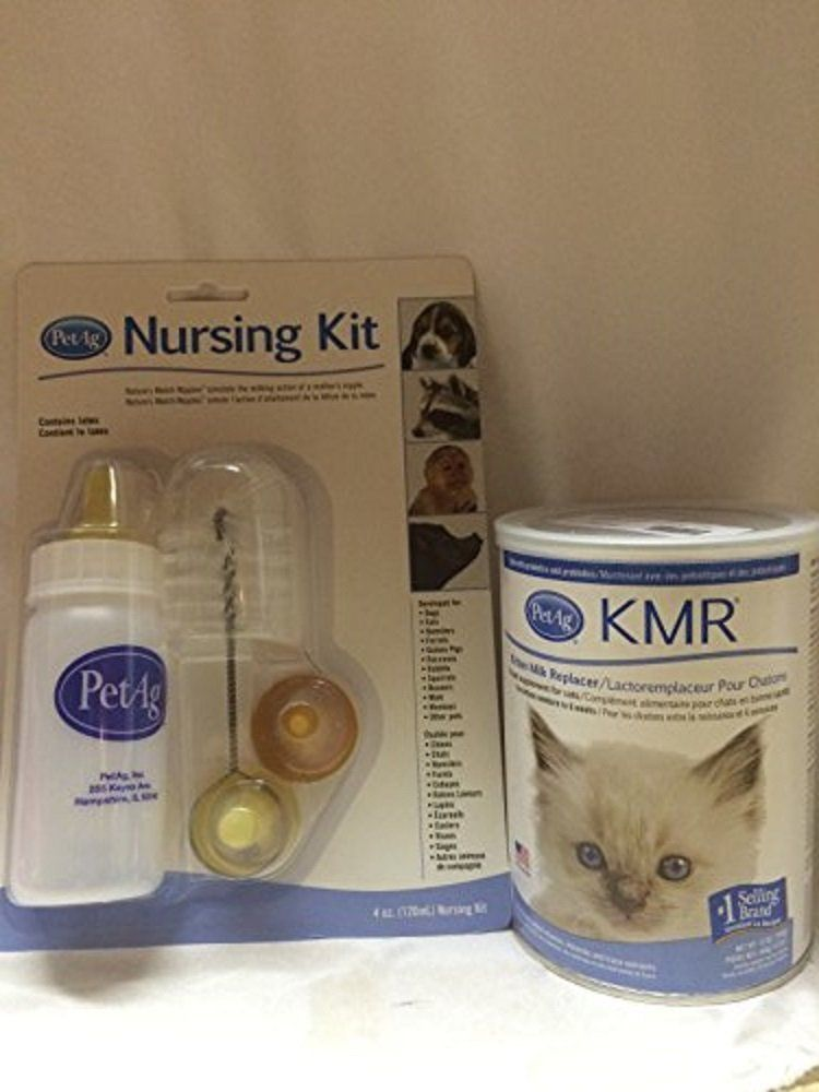 Petag Nursing Kit Set And 12 Oz Powder Kmr Kitten Milk Replacer Food Supplement For Cats Click Image To Review More Deta Cat Food Storage Cat Fleas Cat Odor
