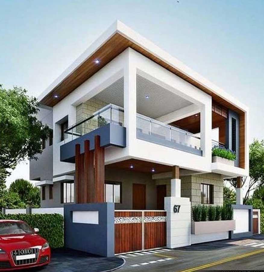 Desain Rumah Mewah Bungalow House Design Modern Residential Architecture Bungalow Exterior