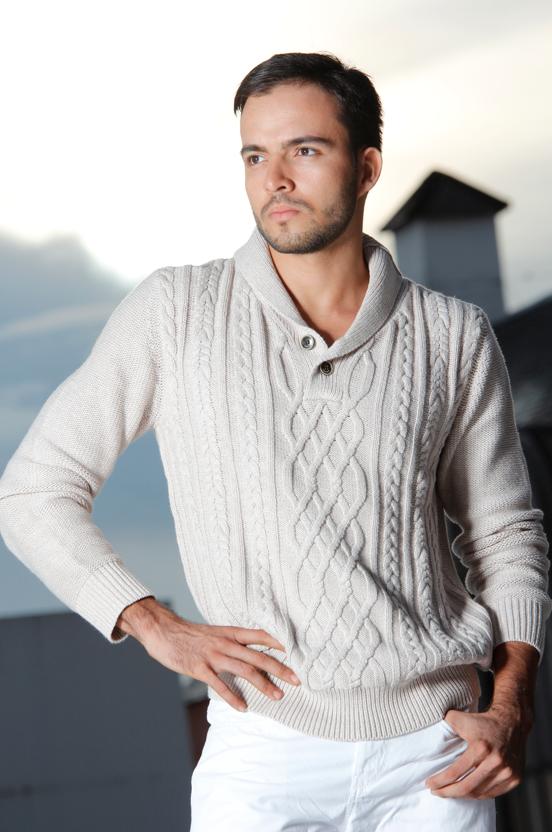 Para esta temporada, los tejidos de punto · Pantalón y sweater ...