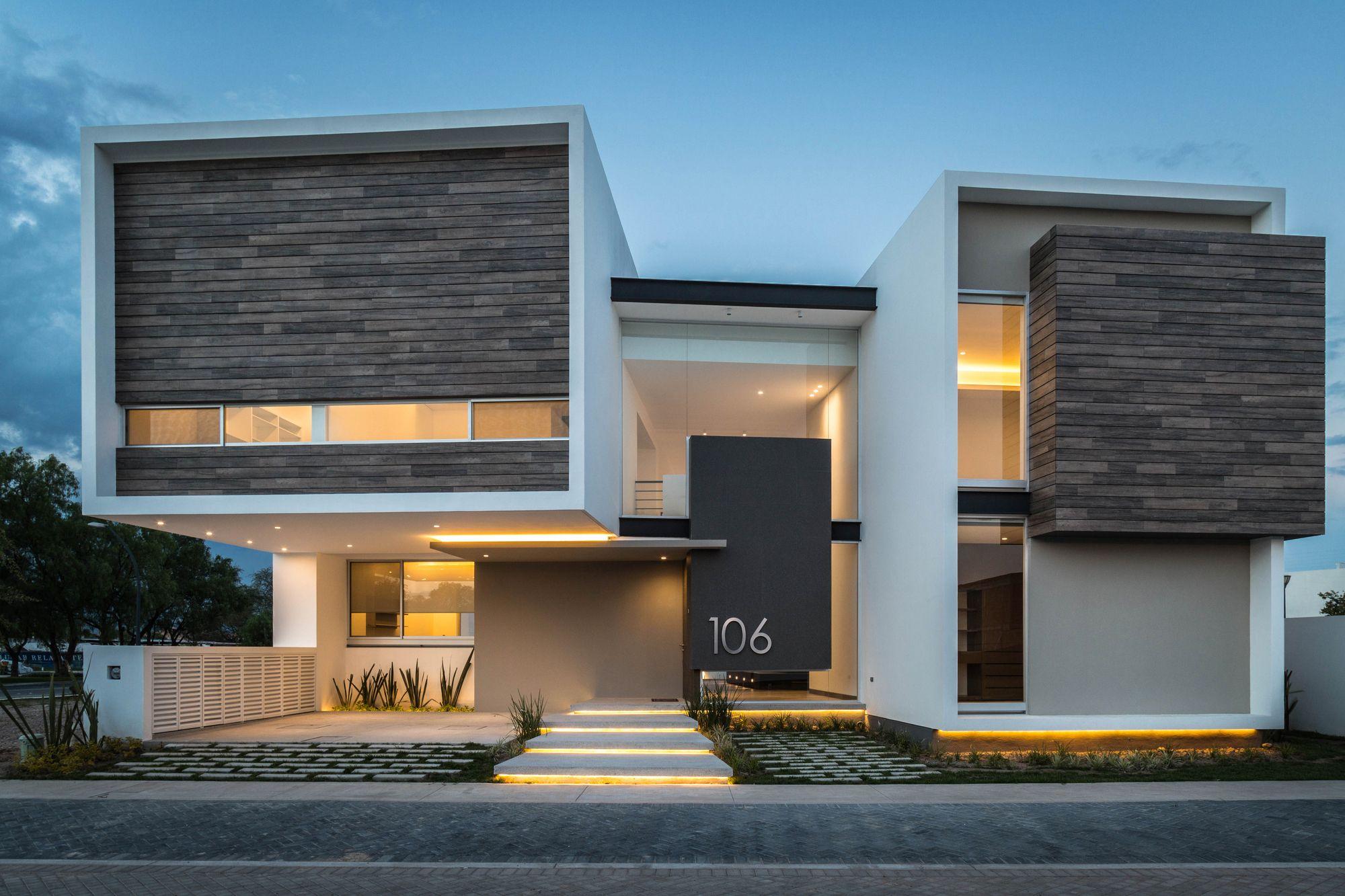 Galer a de casa r p adi arquitectura y dise o interior - Casas arquitectura moderna ...