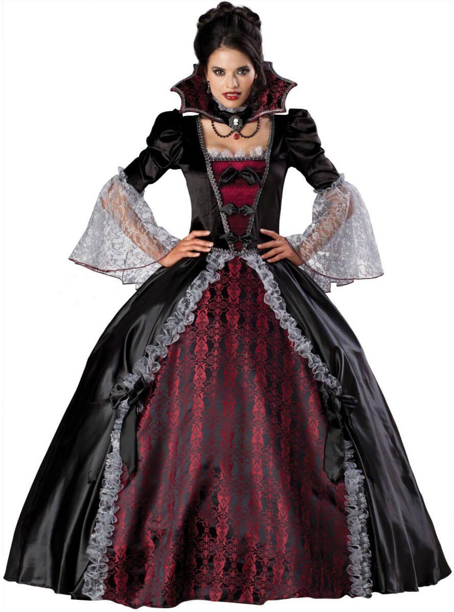 Disfraz de vampiresa de época luxury para mujer 5396b31f1a9e