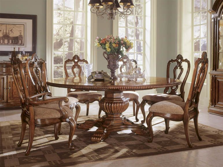 Universal Furniture  Villa Cortina  Villa Cortina  Dining Room Mesmerizing Chippendale Dining Room Set Design Inspiration