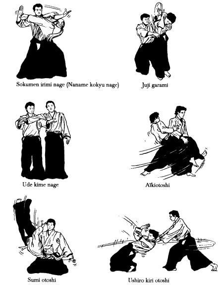 Aikido Basic Technics 9 Master Self Defense To Protect Yourself Aikido Martial Arts Aikido Techniques