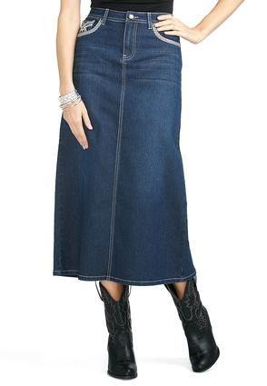 0bee06b5b Cato Fashions Cross Stitch Pocket Denim Skirt #CatoFashions | CUTE ...