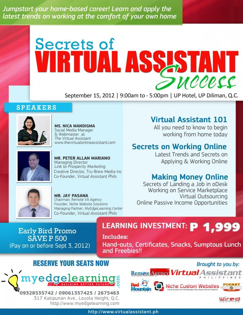 Learn How You Can Become A Successful Virtual Assistant With Us