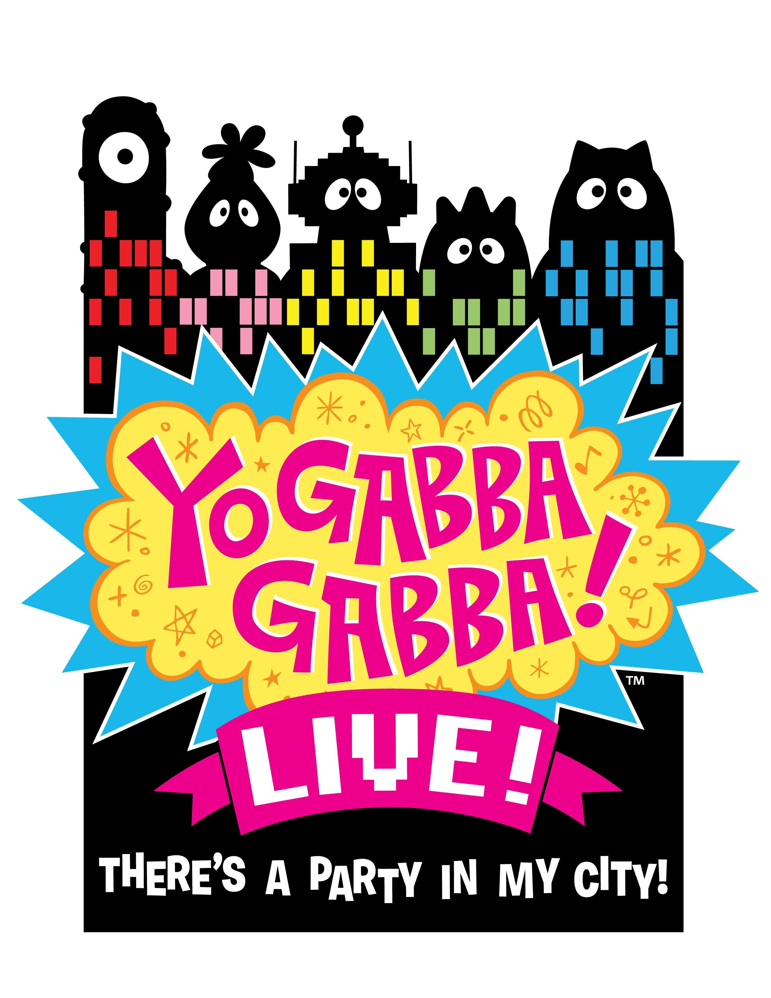 "Yo Gabba Gabba Poster 30/"" x 8.5/"" Personalized Custom Name Painting Printing"