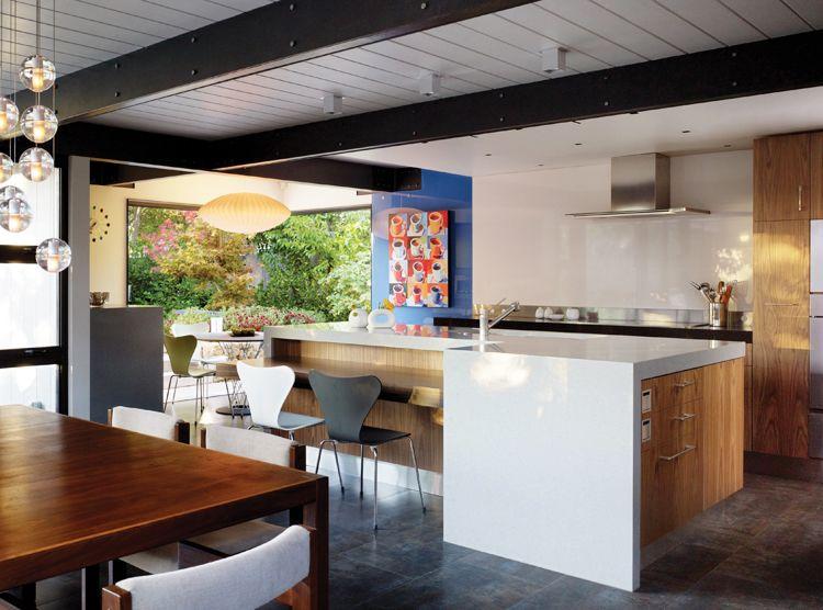 Best Kitchen Contest Winner Walnut Creek Eichler Kitchen 400 x 300
