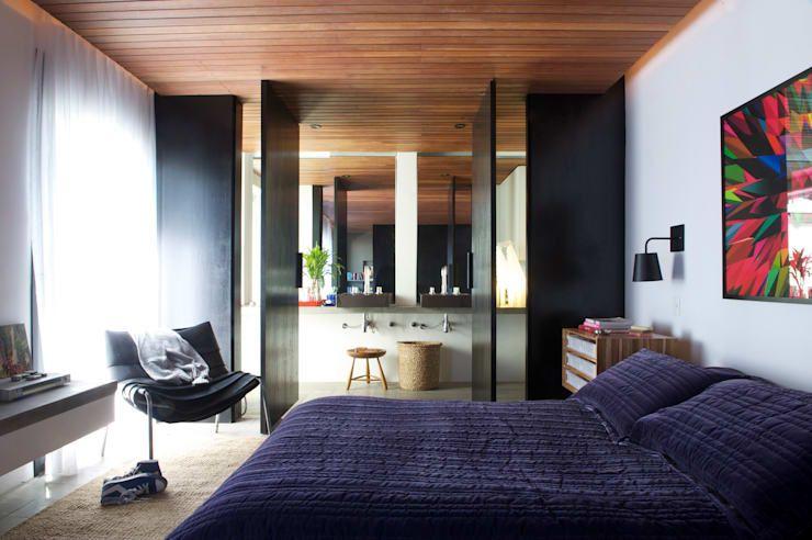Sanfte Blautöne für das Schlafzimmer Small apartment